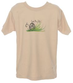 "LTL KID ""Speed the Snail"" Toddler Tee"