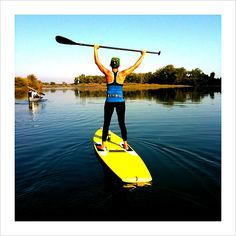 I get sea sick... But I really want to try out paddle boarding sometime :)  Need to sculpt my arms...
