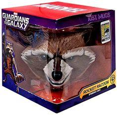 Guardians of The Galaxy 2014 SDCC Exclusive Character Mug Rocket Raccoon @ niftywarehouse.com #NiftyWarehouse #GuardiansOfTheGalaxy #Marvel #Movies #ComicBooks #Comics #MarvelMovies