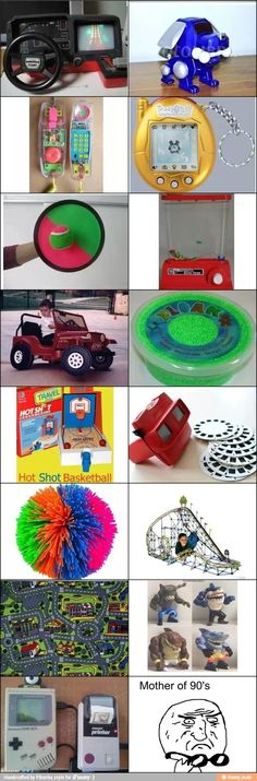 Wow I literally had all those things. 90s kids only