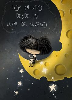 Over The Moon, Stars And Moon, Illustrations, Illustration Art, Good Day Wishes, All Themes, Good Night Quotes, Fashion Pictures, Beautiful Words