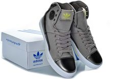 timeless design 6a51e 13bcd Adidas High Tops mens shoes gray original new. Vincent Rissell