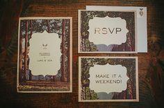 rustic invites