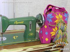 Bolsa de Crochê Wayuu - Receita de Croche