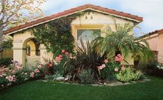 Phormium and roses, and grasses. Architectural plants go well with roses  mediterranean landscape by Urban Oasis