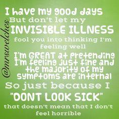 Www.Facebook.Com/mrswelcheswarriors #spoonie #chronicillness...SO TRUE!!!