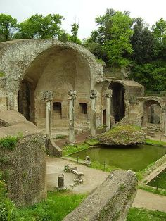 The Villa Adriana (at Tivoli, near Rome) is an exceptional complex of classical buildings created in the 2nd century A.D. by the Roman emperor Hadrian. It combines the best elements of the architectural heritage of Egypt, Greece and Rome in the form of an 'ideal city'.