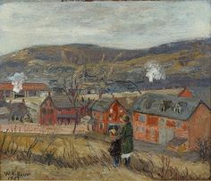 Walter Emerson Baum, American, PA, Bucks Co, 1884 - by William Bunch
