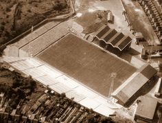 Charlton Athletic - The Valley British Football, Retro Football, Vintage Football, Charlton Athletic Football Club, Charlton Athletic Fc, Bristol Rovers, Football Images, London Places, Football Stadiums