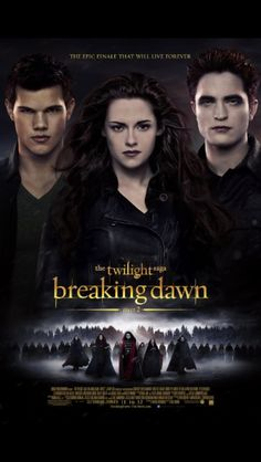 After the birth of Renesmee, the Cullens gather other vampire clans in order to protect the child from a false allegation that puts the family in front of the Volturi.  The Twilight Saga: Breaking Dawn - Part 2 (2012)