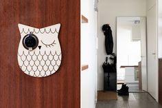 Door peephole :)