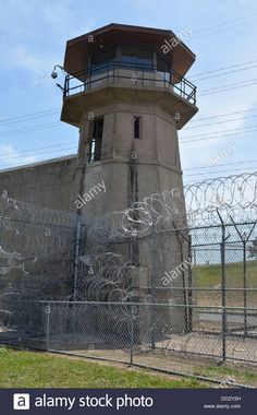 Image result for prison tower Abandoned Prisons, Water Tower, Exterior, Architecture, Towers, Mobsters, Windows, Store Fronts, Image