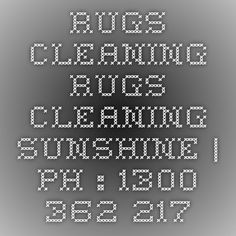 Rugs Cleaning Rugs Cleaning Sunshine | Ph : 1300 362 217