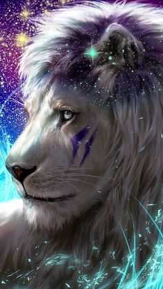 Lion wallpaper iphone art Ideas for 2019 Tier Wallpaper, Wolf Wallpaper, Animal Wallpaper, Handy Wallpaper, Big Cats Art, Cat Art, Mythical Creatures Art, Fantasy Creatures, Lion Wallpaper Iphone