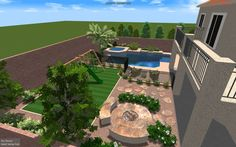 las vegas backyard landscape design