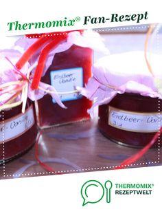 Erdbeermarmelade mit Vanille 75% Frucht von Katha12345. Ein Thermomix ® Rezept aus der Kategorie Saucen/Dips/Brotaufstriche auf www.rezeptwelt.de, der Thermomix ® Community.