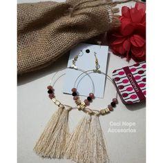 Aretes hermosos para ti!  #cecinopeaccesorios  #aretesdorados #areteslargos Tassel Necklace, Drop Earrings, Instagram, Jewelry, Fashion, Gold Hoop Earrings, Sweetie Belle, Jewellery Making, Moda