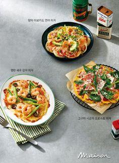 도우를 만들 필요 없이 신선한 채소를 활용한 채소 피자가 있다. 낮은 칼로리에 담백한 맛의 채소 피자를 소개한다.