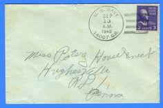 USMC Marine's Mail 14007 Br Air Station Cherry Point, NC September 13, 1948