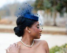 Wedding Veils Headpieces Birdcages, Hats and Jewelry by AnnLeslie Wedding Veils, Bird Cage, Wedding Themes, Blue Wedding, Headpieces, Trending Outfits, Unique Jewelry, Hats, Vintage