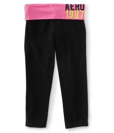 Aero 1987 Knit Yoga Capris - Aeropostale Lobe these so much cheaper than Victoria's Secret!