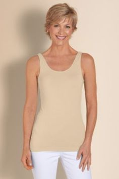 Seamless Essential Tank from Soft Surroundings