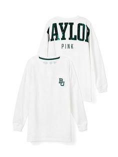 AHHH LOVE AND HAVEEEE<3 BAYLOR Baylor Varsity Jersey PINK