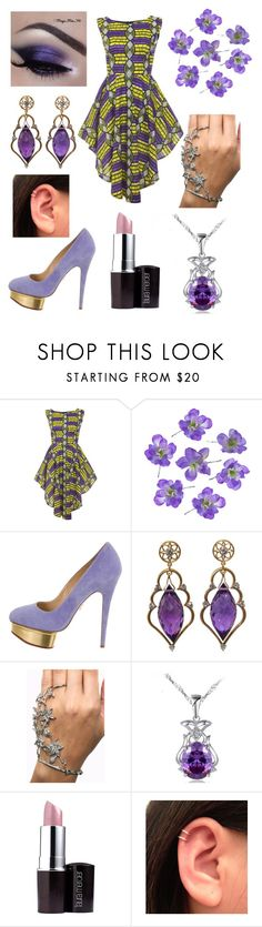 Untitled #70 by kpaigerodriguez on Polyvore featuring Charlotte Olympia and Laura Mercier
