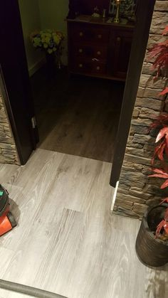 Installing Amtico Floor in Wood Effect to Living Areas