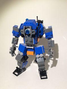 Lego TitanFall 2. Ion Prime. Lego Titanfall, Lego Mechs, Awesome Lego, Cool Lego, Lego Robot, Lego Stuff, Lego Ideas, Lego Creations, Legos