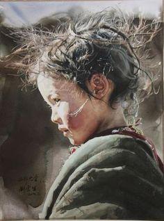 Best Watercolor Portraits By Famous Artists - Fine Art Blogger