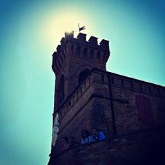 We climbed the hill of #Brisighella, Italy. The sun was high & it was quite warm #BlogVille - Instagram by @Melvin