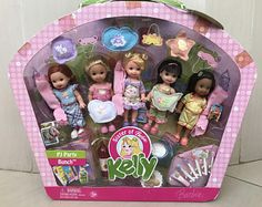 Kelly® And Kayla® Friends Dolls sister of Barbie Barbie Kids, Baby Barbie, Barbie Dolls Diy, Barbie Fashionista Dolls, Barbie Family, Barbie Doll House, Diy Doll, Barbie Chelsea Doll, Barbie Kelly
