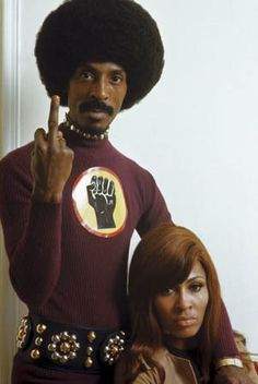 """Circa — Ike & Tina Turner — Image by © Tony Frank/Sygma/Corbis. The """"Black Power in yo face, honky"""" flip. Anna Mae Bullock (born November better known by her stage name Tina Turner, . Music Icon, Soul Music, Indie Music, Black Power, Tony Frank, Frank Frank, Estilo Hip Hop, Photo Star, Ike And Tina Turner"""