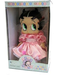 "Baby Betty Boop Doll # Limited Edition By Precious Kids Doll approx. 7.5"" in Sitting Position Box dimension approx 9.5"" x 6"" x 5"" 100% Brand new condition"
