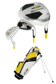 Ray Cook Golf Manta Ray Junior 6-Piece Golf Complete Set with Bag, Right Hand, Steel, Regular