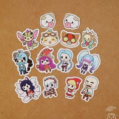 League of Legends Stickers by Meowcaron on Etsy