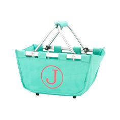 Great for shopping or for stylish organization, our Mini Market Tote is not only super cute it's uses are endless.