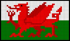WitchWolfWeb Creations: Welsh Dragon Chart