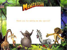 Free Madagascar Party Ideas - Creative Printables