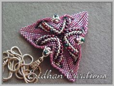 Eridhan Creations - Beading Tutorials: Twisted triangle
