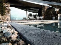 Rustic Contemporary Home in Lake Como, Italy