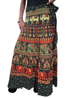 Boho Gypsy Maxi Skirt Elephant Printed Wrap Around Womens Cotton Long Skirts Mogul Interior http://www.amazon.com/dp/B00QQ2R2CA/ref=cm_sw_r_pi_dp_MTLIub1W7V66D