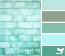These colors always remind me of the sea