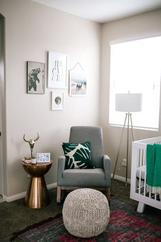 Navy Grace Blog by Camilla Thurman || A Fashion and Lifestyle blog- Nursery Reveal