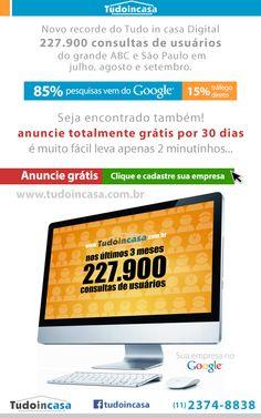 Campanha e-mail marketing para o guia digital Tudo in casa.