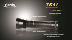 Fénix TK 41 (800 lumens) - Great torch: I own this one. Runs on AAAs!
