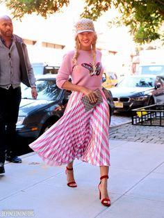New York (October 5) - Beyoncé Online Photo Gallery