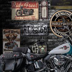 Decoração Motor - Harley-Davidson