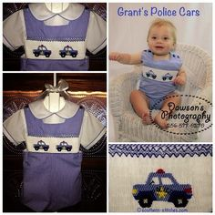SewNso's Sewing Journal: Grant's Police Cars - Whee-o, Whee-o!